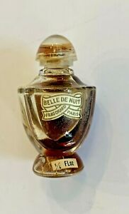 """Vintage 2"""" Mini Perfume Bottle Fragonard Belle De Nuit"""