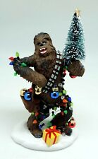 Star Wars Fabriche Chewy (Chewbacca) with Tree Table-top Figurine New