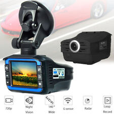 HD 720P 2 In 1 Car DVR Vehicle Video Recorder Dash Cam Radar Detector Camera US