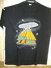 Vintage t-shirt: star trek NG: uss enterprise ncc-1701-d (xl) (états-unis, 1989)