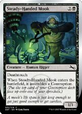 4x Steady-Handed Mook  NM Unstable MTG  Black Common