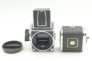 DHL [Overhauled MINT] Hasselblad 500C/M CM Body w/ A12 120 Film Back from JAPAN