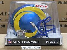 Los Angeles Rams - Riddell NFL Speed Mini Football Helmet (2020 Updated)