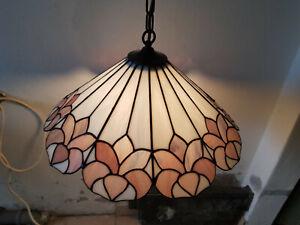 Deckenlampe im Tiffany Stil