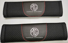 2Pcs Black Color Car Baby Seat Belt Shoulder Cushion Cover Pad Fit For MG Auto