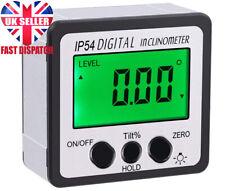 Magnetic Digital Inclinometer Level Box Gauge Angle Meter Finder Protractor GB