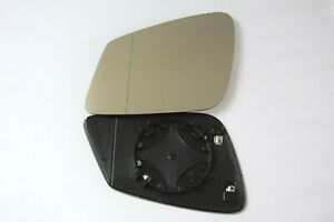 BMW 1 SERIES F20 F21 2010-2021 WING MIRROR GLASS WIDE  ANGLE HEATED LEFT SIDE