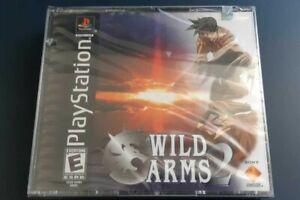 Wild ARMs 2 (PS1) NTSC U/C Y-FOLD BRAND NEW SEALED