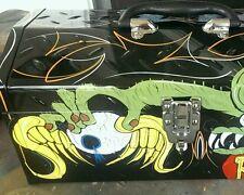 Hot Rat Rod Tattoo Rockabilly TOOL BOX Pinstripe Art by Krõ.....SEE DESCRIPTION