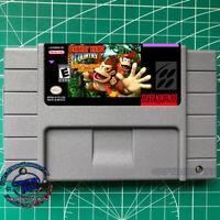 Donkey Kong Country Kremling's Revenge Remodel SNES VIDEO GAME