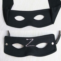 Bandit Zorro Man Eye Mask Masquerade Ball Costume Party Fancy Dress Carnival New