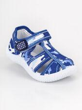 Sandali mimetici con strappo - blu bambino