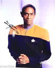 Tim Russ as Tuvok - Autographed 8X10 Photo - Star Trek Voyager 2001