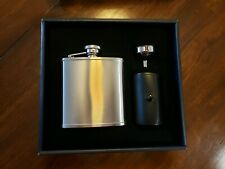 New listing Brookstone Flask Set 6 Piece Stainless Steel Never Used.