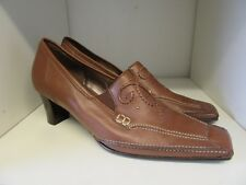GABOR TAN LEATHER SHOES SIZE 6.5 WORN ONCE