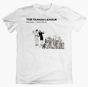 """HUMAN LEAGUE """"Being Boiled"""" T-shirt Soft Cell, Heaven 17, OMD, Cabaret Voltaire"""