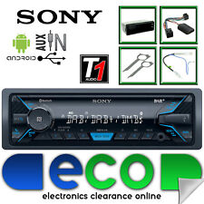 VW Caddy 2004 On SONY Bluetooth DAB Android iPhone Aux Car Stereo Steering Kit