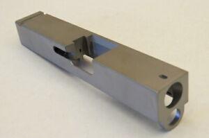 Stainless Steel Pistol Slide For Glock 27 40CAL GEN3-GEN4 Stripped Blank.
