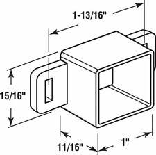 9 Pack  Plastic Drawer Track Back Plate