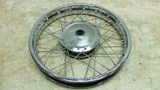 08 Honda CB250 CB 250 Nighthawk front wheel rim