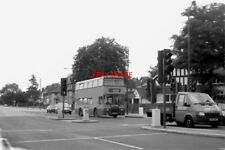 PHOTO  1990 PURLEY CROSS - 1990 A LONDON AND COUNTRY DOUBLE DECKER BOUND FOR WES