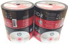 HP DVD-R 16X 4.7GB 120MIn DVD-R Branded Logo 200pcs 4x50 pack Plastic Wrap