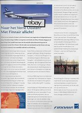 FINNAIR FINLAND MD-11 TO CHINA-THAILAND-SINGAPORE FROM HELSINKI 2005 DUTCH AD