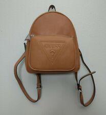 Guess Baldwin Park Backpack Shoulder Bag Logo Purse Cognac BB637131 New
