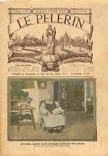 Portrait Mgr Alphonse Favier vicaire apostolique Pékin Beijing 1905 ILLUSTRATION
