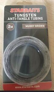 Anti tangle Starbaits tungsten tubing 2m muddy brown
