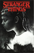 Stranger Things Six #1 Black Cape Comics Exclusive Salinas Variant Signed! W/Coa