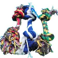20cm Dog Puppy Pet Cotton Braided Bone Rope Chew Knot Toy
