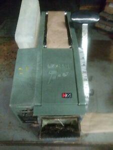 Marsh Gummed Tape dispenser 5HT hand taper Green working.
