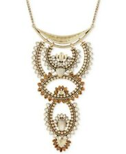 Lucky Brand Stone Accented Geometric Necklace NWT