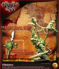 Warhammer Avatars of War Vermin Clan Lord Nuevo metal New