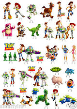 TOY STORY Cup Cake Edible Wafer Card Toppers Stand up 34 PIECES NEW***