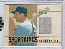 2007 Sportkings Single Memorabilia Gold  Stan Musial Jersey /10