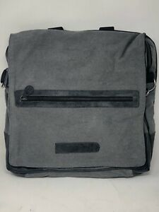 BAG OF HOLDING ThinkGeek Canvas Messenger Computer Bag Shoulder Organizer NEW!