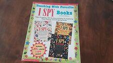 TEACHING WITH FAVORITE I SPY BOOKS~ NEW Teacher Resource SCHOLASTIC GR K-3