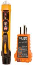 Klein Tools Non Contact Voltage Tester Digital Flashlight Electrical Test Kit