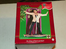 Carlton cards elvis all shook up singing musical ornament New with free photo