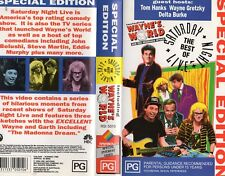 1991 Saturday Night Live VHS Movie Waynes World Special Gretzky RARE Cheap Aus