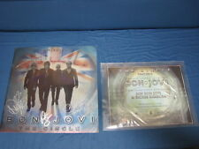 Bon Jovi Necklace by Guitar Strings & The Circle 2010 Tour Book w Certification