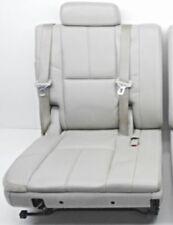 2007 - 2014 Tahoe 3rd Third Row Seat Gray Leather Yukon Suburban RH