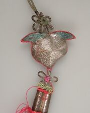 Chinese Embroidered Silk Tassel      47983
