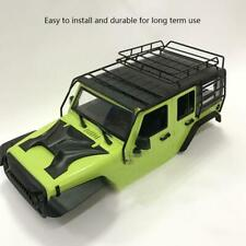 RC 1/10 Metal Luggage Roof Rack for Jeep Wrangler 1/10 Scale Crawler Car mt