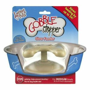 Loving Pets Gobble Stopper Slow Pet Feeding Supplies for Dogs