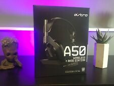 ASTRO Gaming A50 Wireless Headset and Base Station - Black/Grey PS4 / PC - NEW