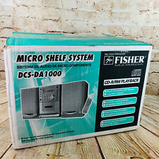 Fisher Compact Micro Shelf System Cd Player 2Band Tuner Digital Stereo Dcs-Da100