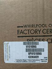 Genuine Oem Whirlpool Refrigerator Ice Maker Part # W10190965, Wpw10190965
